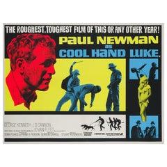 """""""Cool Hand Luke"""" UK Film Poster, 1967"""