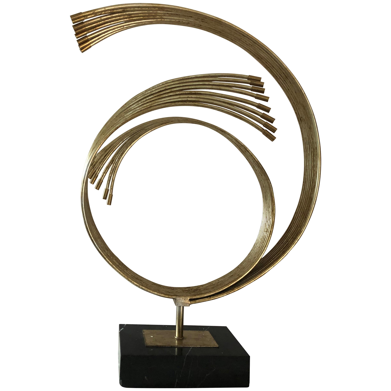 Cool Mid-Century Modern Curtis Jere Sculpture