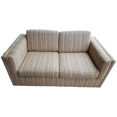 Cool Milo Baughman Loveseat