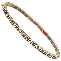 Coomi 20K Gold and Diamond Sagrada Bracelet