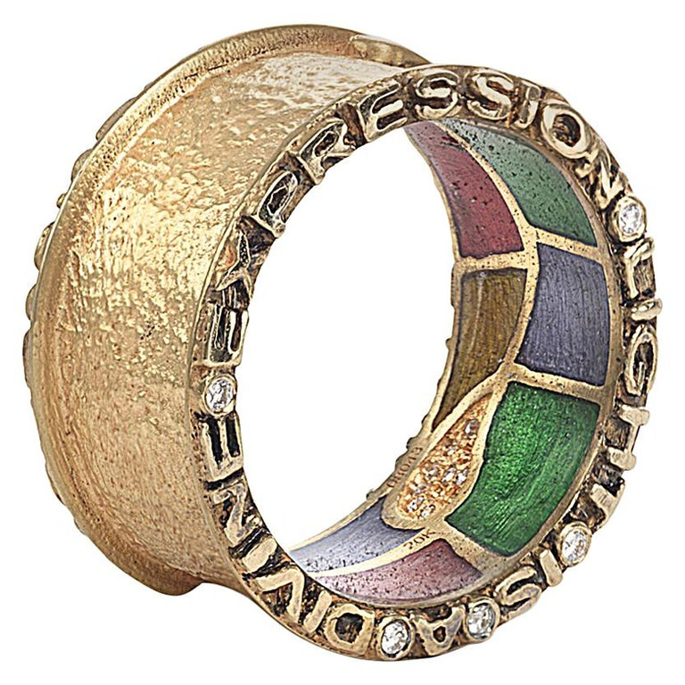 """Coomi 20K """"Light"""" Band Ring For Sale"""