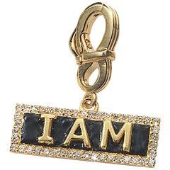 "COOMI ""I Am"" Diamond Pendant Set in 20-Karat Gold"