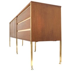 'Copal' Credenza in Panga Panga by Kho Liang le & Wim Crouwel for Fristho, 1960