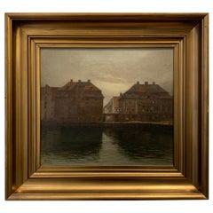 Copenhagen Harbor, Otto Olsen, Denmark, 1913