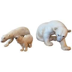 Copenhagen Porcelain B&G Polar Bears