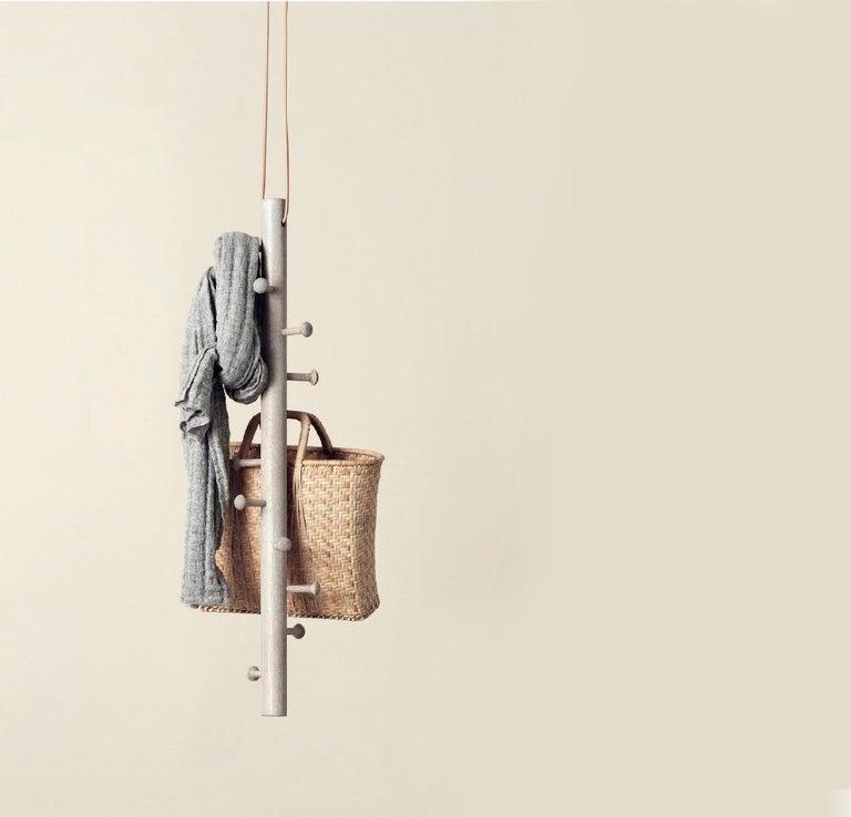 Copenhanger Floating Coat Hanger Oiled Oak For Sale 1