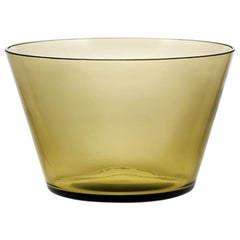 Coppa, Bowl Handcrafted Muranese Glass, Angora Pure MUN by VG