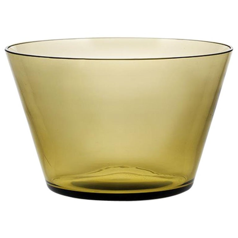Coppa, Bowl Handcrafted Muranese Glass, Angora Pure MUN by VG For Sale