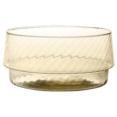 Coppa Multipot25, Bowl Handcrafted Muranese Glass, Angora Twisted MUN by VG
