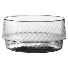 Coppa Multipot25, Bowl Handcrafted Muranese Glass, Lead Twisted MUN by VG