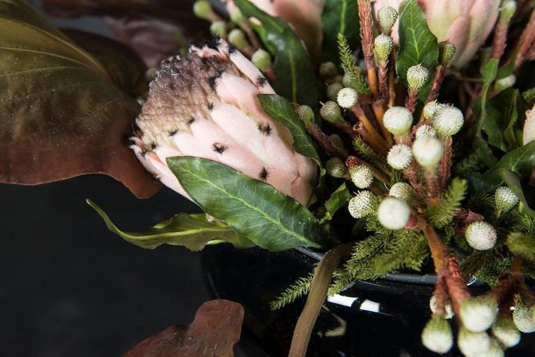 Italian Coppa Mykonos Set Arrangement, Flowers, Italy For Sale