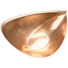 Copper Bowl by Tapio Wirkkala for Kultakeskus Oy