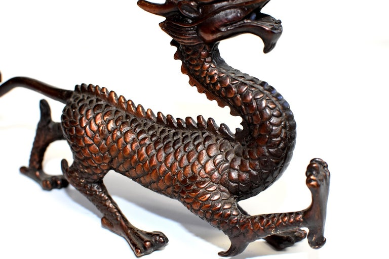 Han Copper Bronze Dragon  For Sale