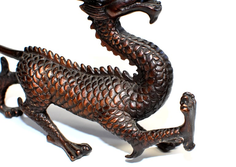 Copper Bronze Dragon  For Sale 1