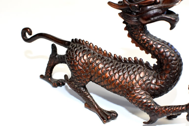 Copper Bronze Dragon  For Sale 3