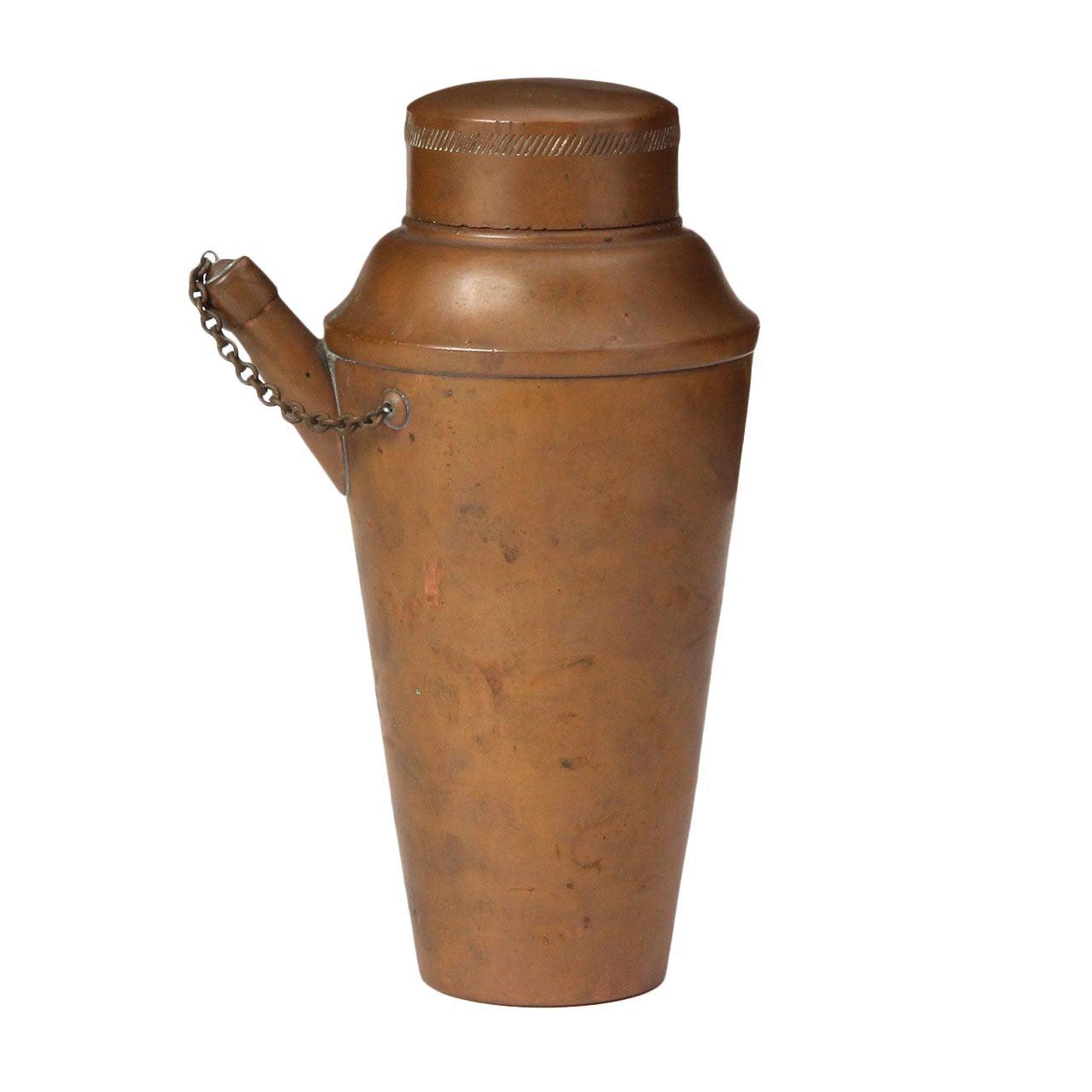 Copper Cocktail Shaker by Jos Heinrichs
