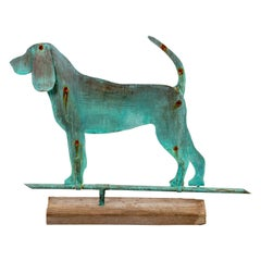 Copper Dog Weathervane