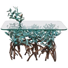 Copper Mangrove Coffee Table by Garland Faulkner