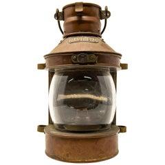 Copper Masthead Ship Lantern