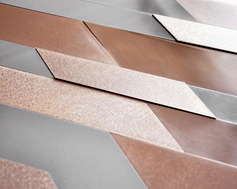 Modern Copper Mirror