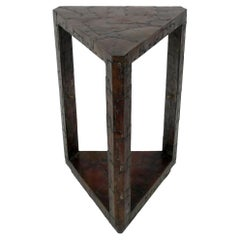Copper Patchwork Table or Pedestal