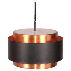 Copper Pendant Light for Fog & Mørup, Danish Modern, 1960s