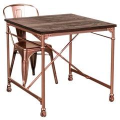 Copper Pipe Table Range, 20th Century