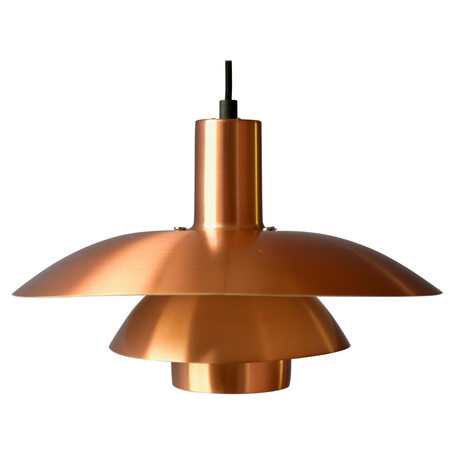Copper Poul Henningsen PH 4-4 1/2 Made in Denmark