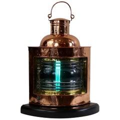 Copper Ships Starboard Lantern
