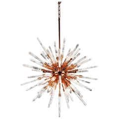Copper Stella White Quartz Pendant Lamp