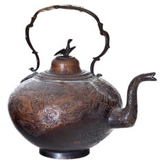 Copper Teapot, Russia, Probably Demidov Workshop, circa 1760