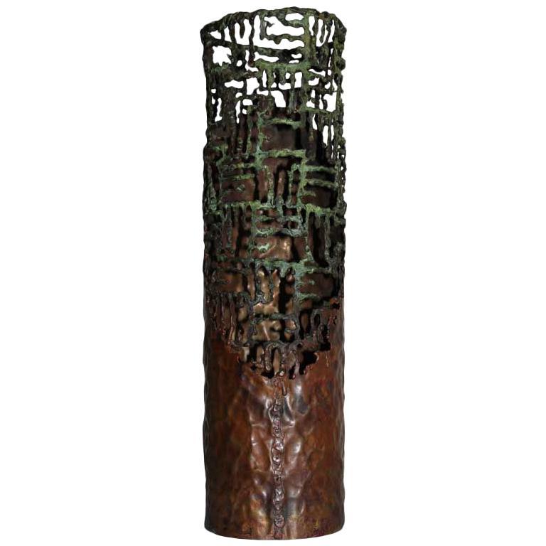 Copper Vase by Marcello Fantoni