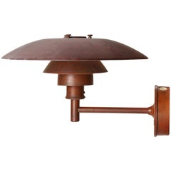 Copper Wall Sconce by Poul Henningsen