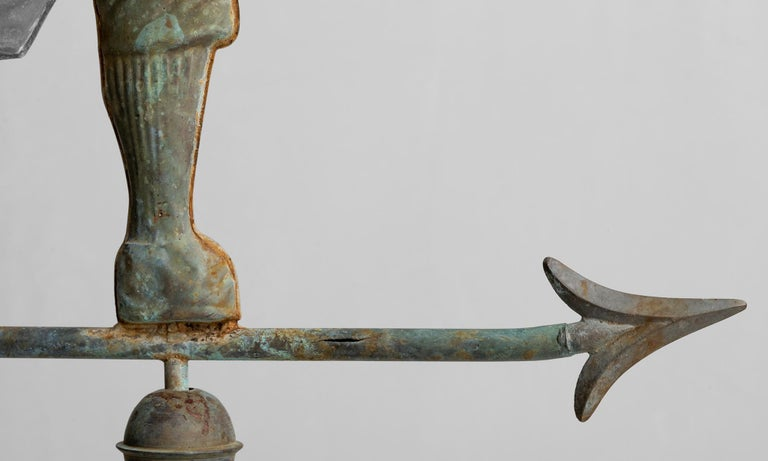 Copper Weathervane, American, Early 20th Century For Sale 2