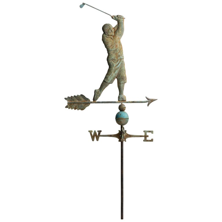 Copper Weathervane, American, Early 20th Century For Sale
