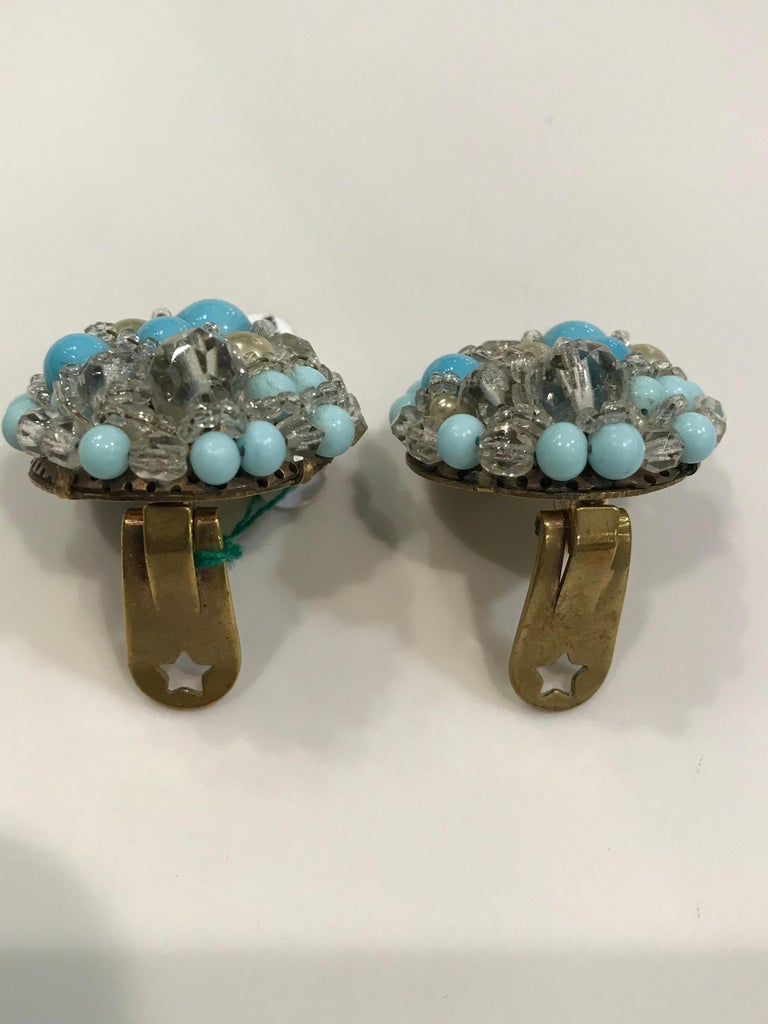 Coppola e Toppo Crystal  Earrings For Sale 5