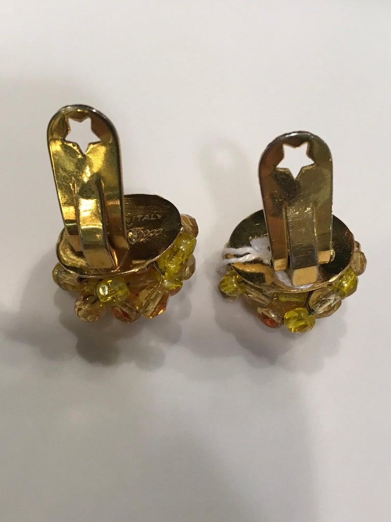Modern Coppola e Toppo Crystal  Earrings For Sale