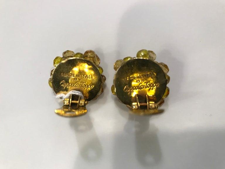 Women's Coppola e Toppo Crystal  Earrings For Sale