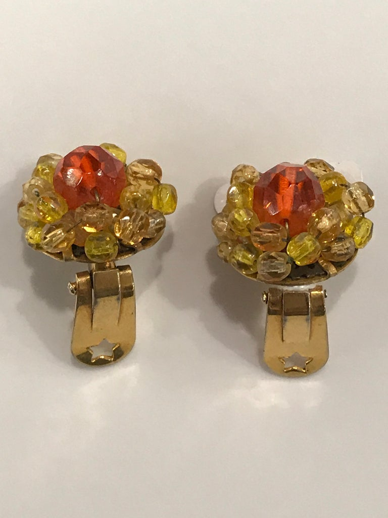 Coppola e Toppo Crystal  Earrings For Sale 2