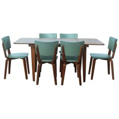 Cor Alons Plywood Dining Set by Gouda Den Boer Holland