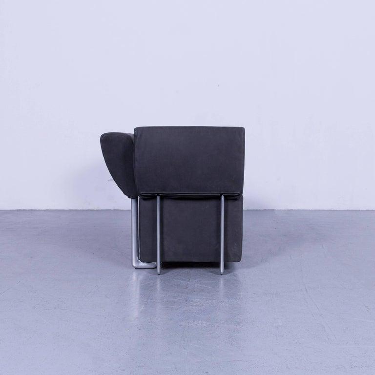 COR Clou Leather Sofa Grey Three-Seat 8