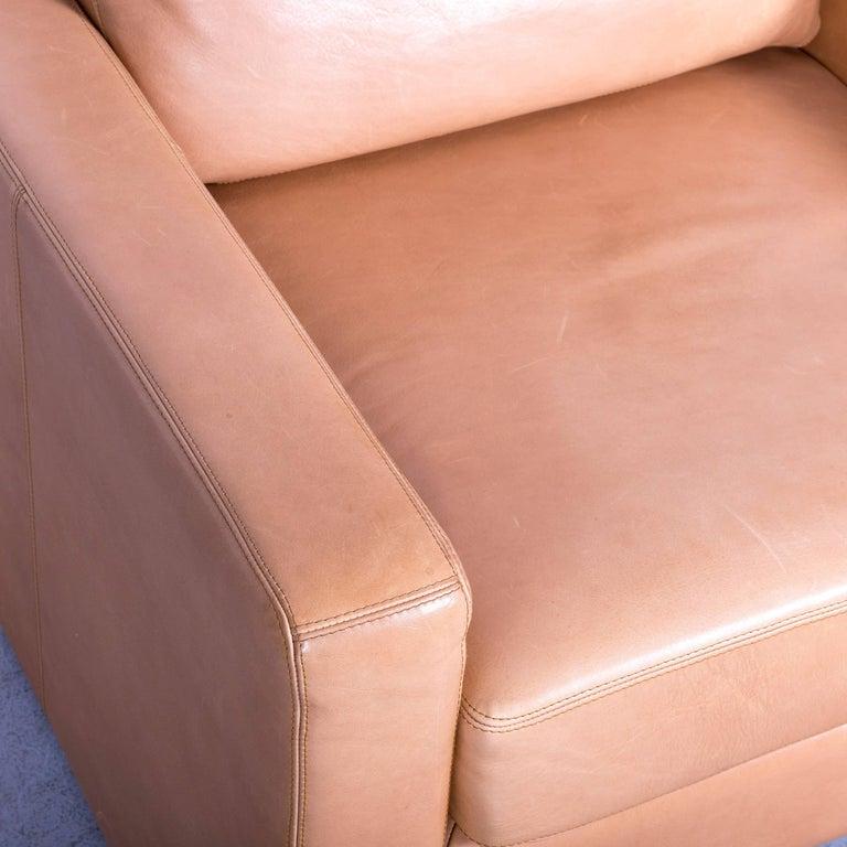 COR Conseta Anilin Leather Armchair Brown One-Seat 1