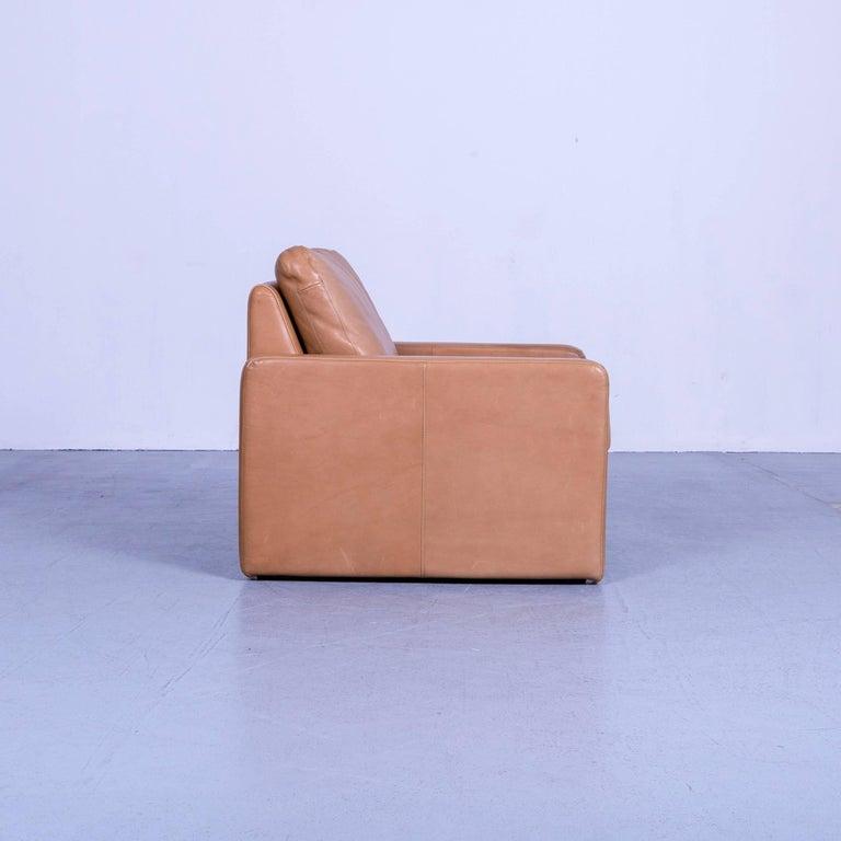 COR Conseta Anilin Leather Armchair Brown One-Seat 2