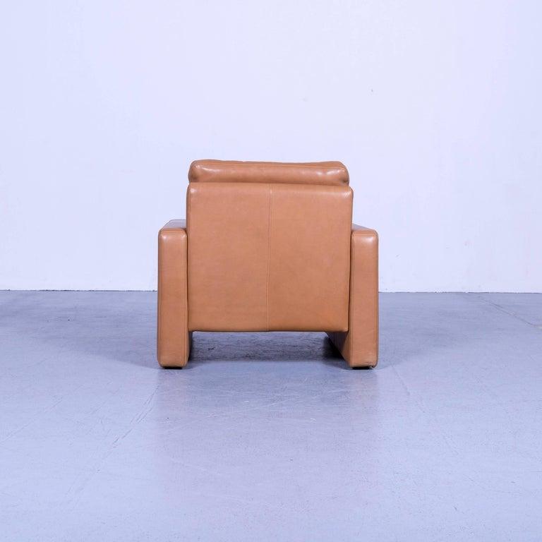 COR Conseta Anilin Leather Armchair Brown One-Seat 3