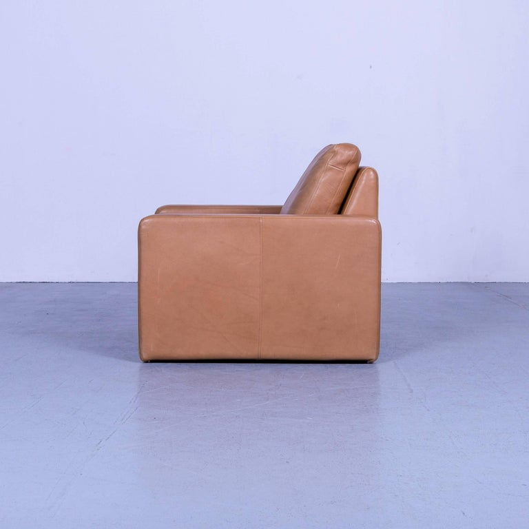 COR Conseta Anilin Leather Armchair Brown One-Seat 4