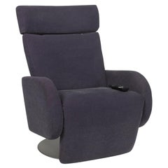 COR Conseta Fabric Armchair Gray Relax Function Electric
