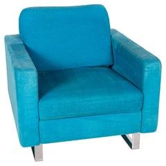 COR Conseta Fabric Armchair Turquoise