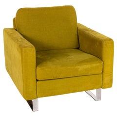 COR Conseta Fabric Armchair Yellow