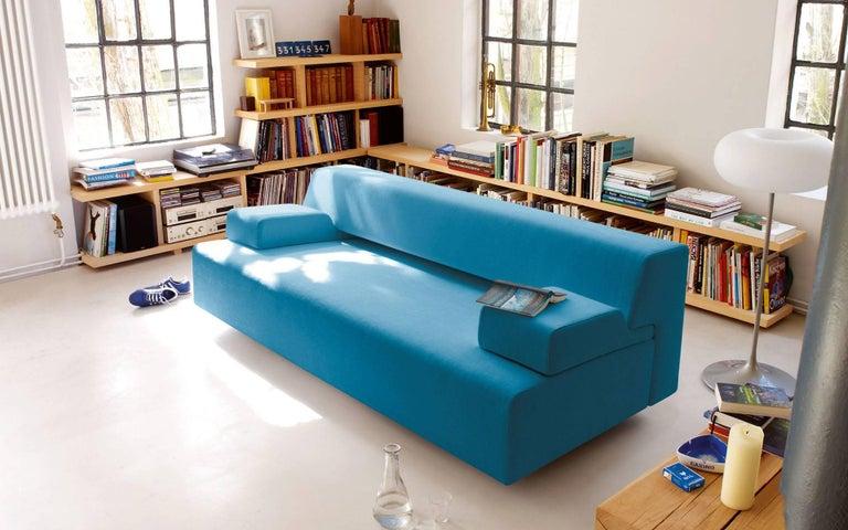 German COR Cosma Sleeper Sofa in Fabric or Leather For Sale