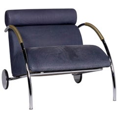 COR Cycle Leather Armchair Blue Feature Peter Maly